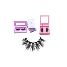 5D05 5 Pairs Lashes Wholesale Hot Selling 25mm 5d Faux Fake Silk Eyelashes