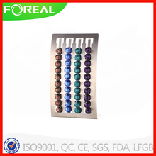 2016 New Model Free Standing Nespresso Coffee Capsule Holder