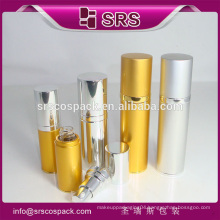 China Manufacture Cosmetic Container 15ml 30ml 50ml 80ml Golden Aluminum Lotion Bottle