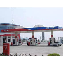 Steel Frame Gas Station Canopy