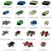Fourniture OEM SC FC ST LC Monomode / Multimode, Simplex / Duplex, Adaptateur fibre optique