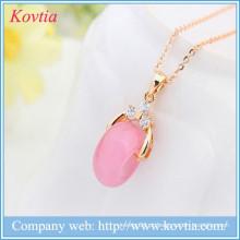 Brinquedos do sexo para mulheres rosa opala jóias colar de ouro colares colar desenhos