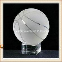 Béisbol de cristal para la decoración casera