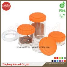 Kleine Behälter mit kundenspezifischem Logo und Farbe