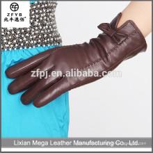 2016 buena calidad nuevo Compra en línea guantes de cuero en China