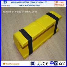 Protetor de plástico para rack na posição vertical