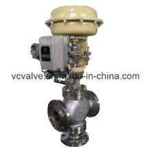 Control Globe Valve with Electric Actuator