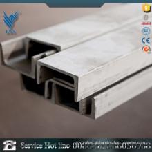 Barra de canal de aço inoxidável do fornecedor 306L de Alibaba para a máquina