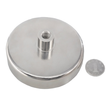 Ferrite magnetic base round base magnets