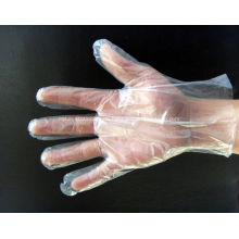 Einweg-Sicherheits-medizinische PET-Handschuhe Plastikhandhandschuhe