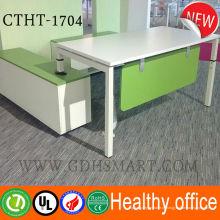 Подержанной офисной мебели для сбывания регулируемая высота стоя стол ручной регулировкой высоты стола компьютера