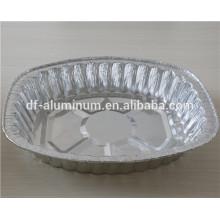 Microwavable Mitnehmen Aluminiumfolie Bratpfanne