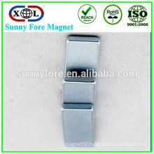 N42 zinc coating block rare earth magnet