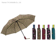 Folding Cartoon Printing Auto Open&Close Rain Umbrellas