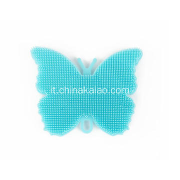 New Butterfly Design Dish Easy Cleaning Brush Scrubber
