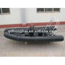 luxury fiberglass hull RIB boat RIB520B with CE