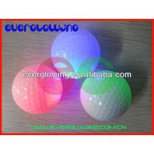 Balles de golf flash LED vente chaude 2017 pour la formation de nuit