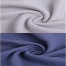 Comercio al por mayor de poliéster cepillado Spandex Terry telas suéter