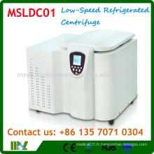 MSLDC01 Type de table Centrifugeuse à froid à faible vitesse