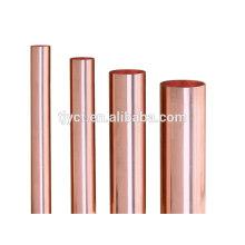 venda quente cobre vermelho latão / cobre tubo / tubos de cobre vermelho preço de fábrica por kg