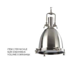 Good Quality Nickle Spot Lamp Indoor Pendant Lamp (C709 nickle)
