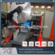 China factory price steel panel round pipe pipe roll machine de formage pour bec de pluie