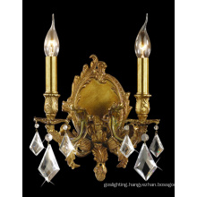 Brass with Crystal Decoration Wall Lamp (MB0800-2)