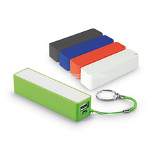 Promotionele sleutelhanger Power Bank 2600mAh