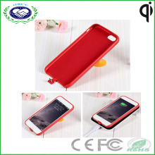 Ture Leather Personality Wireless Receiver Case pour iPhone6
