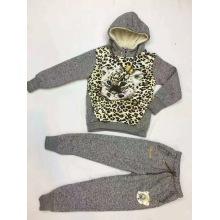 Fashion Children Sport Wear with Tiger in Children Clothes Suits Sq-17122