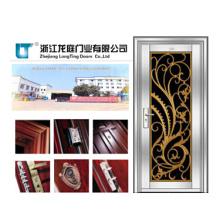 Puerta de acero inoxidable para seguridad de apartamentos (LTSS-1008)