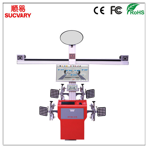 New 3D Wheel Alignment Tool