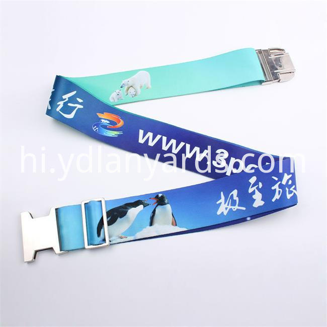 Dye Sublimation Logp Luggage Strap