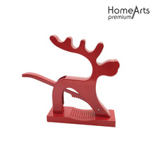Nut Cracker Red Deer Forma de acero inoxidable
