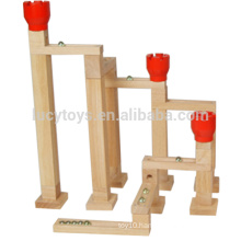 High Quality Ball Bearing Game Speedway Set Wooden Marble Run Toy