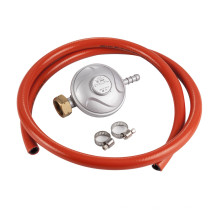 CE Kitchen Spare Parts 30Mbar Cooking Gas Regulator and 1MM PVC Hose Orange Hose Home appliance parts