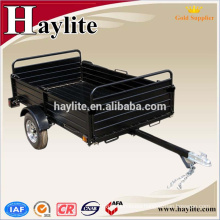 farm using powder coated steel black dump tractor and truck trailer