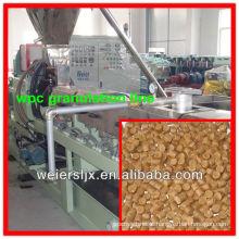 CE certificated eficaz madeira plástica composto wpc granulado que faz a máquina