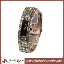 Мода Изысканный Алмаз Часы Кварцевые Часы