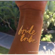 Bride Tattoos, wedding Tattoo body decoration custom design in good quality
