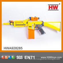 Brinquedo elétrico da arma do airsoft com telescópio e infravermelho