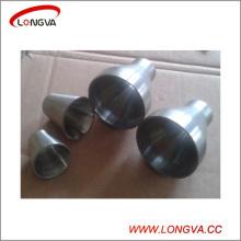 Réducteur de soudure concentrique en acier inoxydable 304 en acier inoxydable