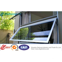 China 2015 novas janelas de toldo de alumínio