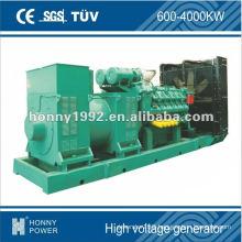 High voltage diesel generators 10.5kV