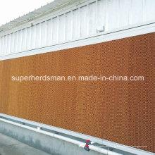 Almofadas de evaporação evaporativas de alta qualidade para a casa da exploração avícola