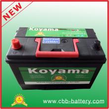 95D31rmf (12V80Ah) Corea del diseño de mantenimiento libre de la batería de coche