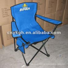 Cadeira de piquenique dobrável com bolso de revista
