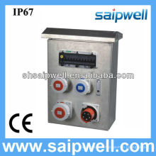 2014 IP67 Stainless Steel Combination Power Box with Socket and Switch