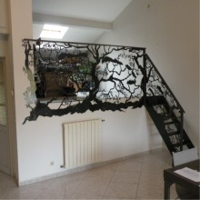 Interior Decorative Metal Railings