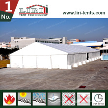 White Roof Covers Huge Tent for Hot Sales